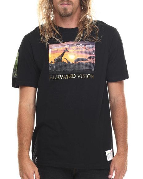 Lrg Men Roots Safari Collage T-Shirt Black Small