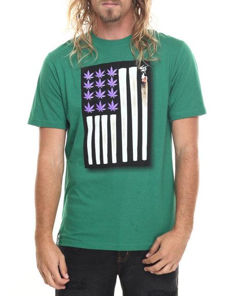Lrg Men Joint Chiefs Of Staff T-Shirt Green X-Large