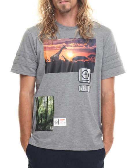 Lrg Men Elevated Vision T-Shirt Charcoal Large