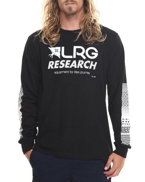 Lrg - Men Black Rc L/S T-Shirt - $34.99