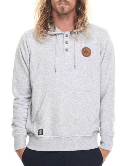 Lrg Men Rc Pullover Hoodie Grey Medium