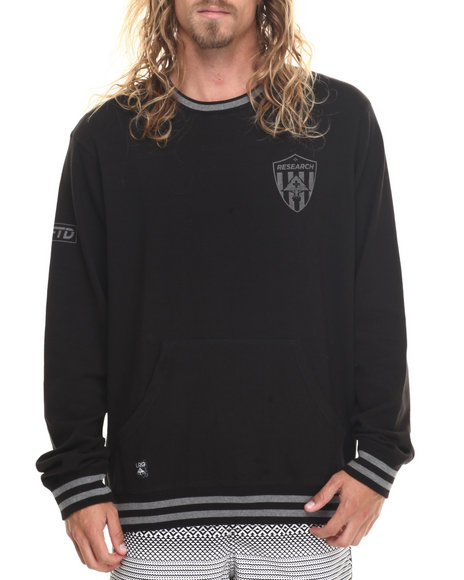 Lrg - Men Black Rc Lftd Sweatshirt