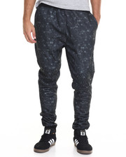 Black Friday Shop - Men - Burnout Jogger w Knee Detail