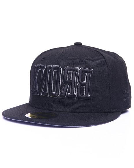New Era - Men Black Nyc Borough Bronx Custom 59Fifty Fitted Cap - $25.99