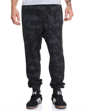 Black Friday Shop - Men - Tie Dye Spray Drop Crotch Jogger