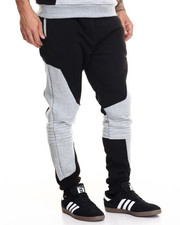 Buyers Picks - Contrast Melange Moto Sweatpant