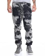 Jeans & Pants - Tie Dye Biker Jean Jogger
