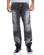 Buyers Picks - Cloud Wash Black Biker Jean