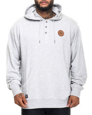 Men - RC Pullover Hooded Henley (B&T)