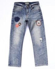 Parish - DISTRESSED JEANS W/ PATCHES (8-20)