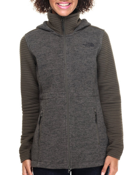 The North Face - Women Green Women's Indi Insulated Hoodie