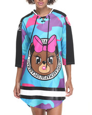 Dresses - Dope Girl Hockey Jersey Dress