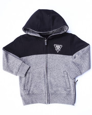 Boys - MARLED FLEECE FULL ZIP HOODY (2T-4T)