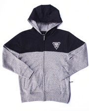 Hoodies - MARLED FLEECE FULL ZIP HOODY (8-20)