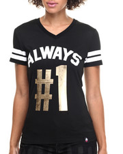 Tops - Number 1 V-Neck Jersey