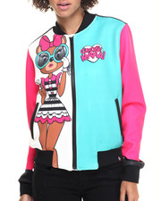 Light Jackets - Cici Bear Bomber Jacket