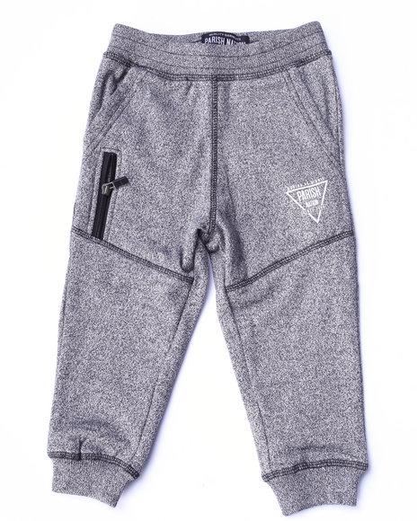 Parish - Boys Black Marled Fleece Pants (2T-4T) - $27.99