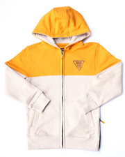 Hoodies - MARLED FLEECE FULL ZIP HOODY (4-7)