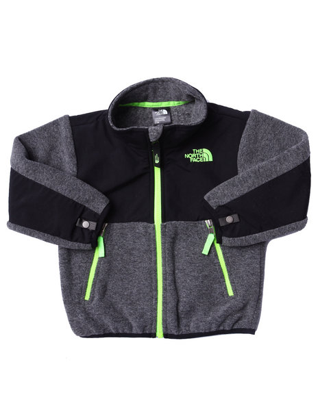 The North Face - Boys Grey Denali Jacket (2T-4T)