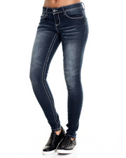 Jeans - Classic Skinny Jean Novelty Wash