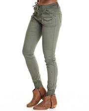 Fashion Lab - Stretch Twill Slim Jogger