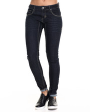 Jeans - Twisted Seam Skinny Jean w/Zipper Back Pkt