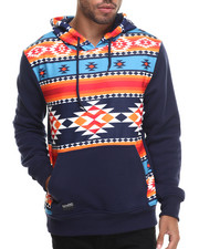 Hoodies - Aztec Printed Sweatshirt