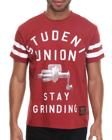s u stay grinding s/s tee