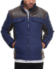 Men - Troy Fashion Quilted Jacket