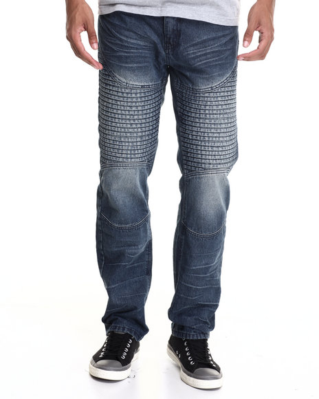 Enyce - Men Dark Wash Sulpher Fashion Jeans