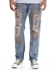 Enyce - Distressed Foil Fashion Jeans