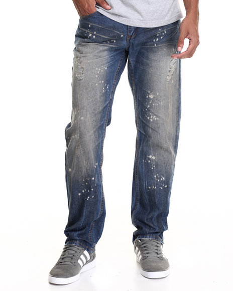 Enyce Men Enzyme Fashion Jeans Medium Wash 32x32