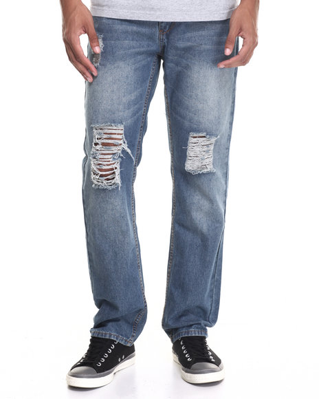 Enyce - Men Light Wash Light Fashion Jeans