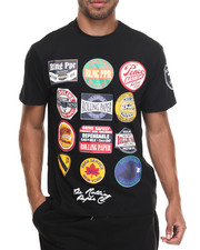 Black Friday Shop - Men - Print Patch T-Shirt