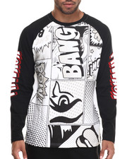 Men - Comic Graphic Raglan
