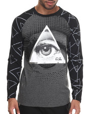 Men - Long Body Diamond Eye Raglan