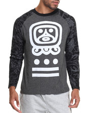Men - Graphic Raglan