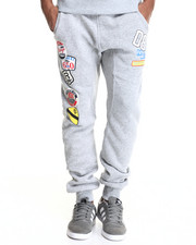 Jeans & Pants - Patch Print Jogger