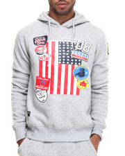 Rolling Paper - Patch Print Sweatshirt