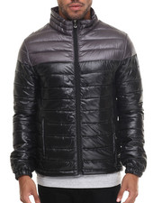Men - Chill Factor 2-Tone Polyfill Bubble Sweater Jacket
