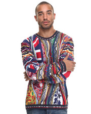 Sweaters - Coogi Flag Limited Edition Authentic Sweater