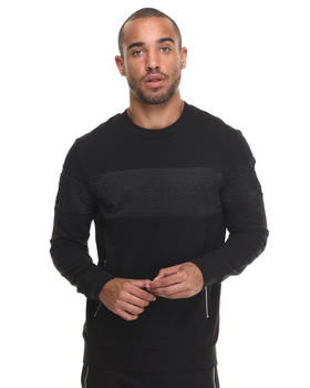 Sweatshirts - FLEECE NECK WITH INSERT IN RELIEF