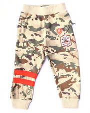 Bottoms - CAMO FLEECE JOGGERS (2T-4T)