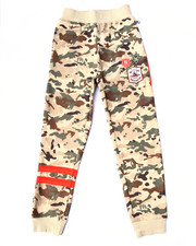 Boys - CAMO FLEECE JOGGERS (8-20)