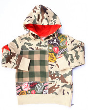 Sizes 2T-4T - Toddler - CAMO POPOVER HOODY (2T-4T)