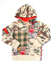 Black Friday Shop - Boys - CAMO POPOVER HOODY (4-7)