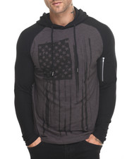 Black Friday Shop - Men - Moto Flag Hoodie