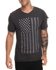 Buyers Picks - Studded V Flag Tee
