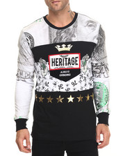 Men - Heritage Money L/S T-Shirt