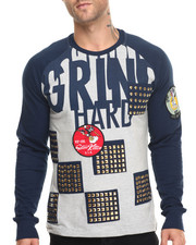 Men - Grind Hard L/S T-Shirt
